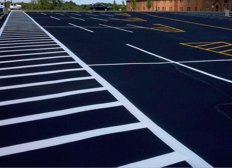 Line Striping Services in Washington D.C., Baltimore, Richmond, Charlottesville, Norfolk, Roanoke