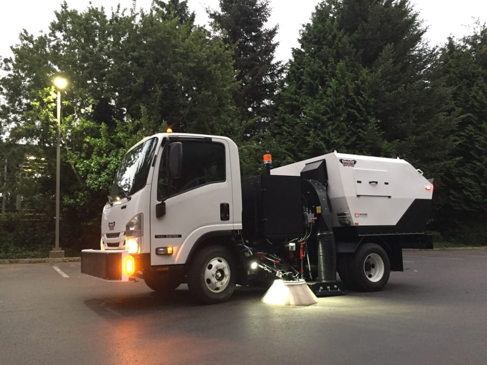 Raptor Vacuum Street Sweeping Services in Washington D.C., Baltimore, Richmond, Charlottesville, Norfolk, Roanoke