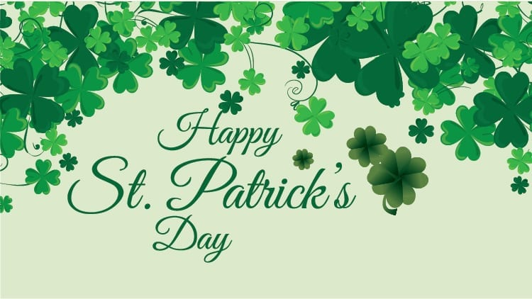 Happy St. Patrick's Day in Washington D.C., Baltimore, Richmond, Charlottesville, Norfolk, Roanoke