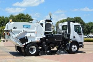 Tymco Regenerative Air Street Sweeping Services in Washington D.C., Baltimore, Richmond, Charlottesville, Norfolk, Roanoke