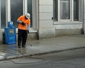 street sweeping, Reasons to Pressure Wash in Maryland and Virginia.