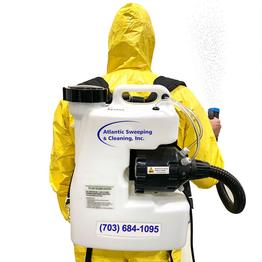 disinfectant & sanitizing services, Maryland COVID-19 CoronaVirus Santizing and Disinfectant Services, Atlantic Sweeping & Cleaning Inc