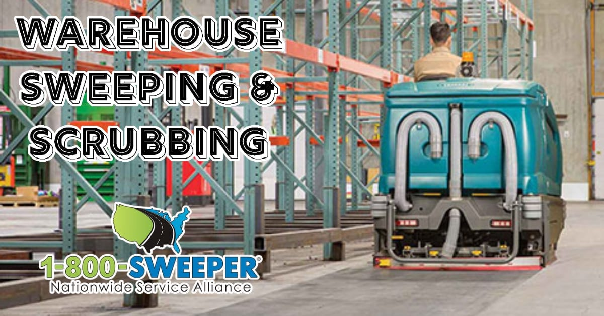 Warehouse Sweeping & Scrubbing Services